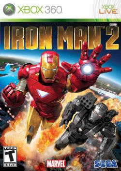 Iron Man 2 XB360 Cover Art