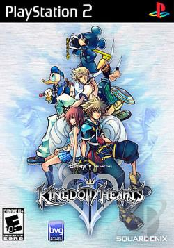 Kingdom Hearts II PS2 Cover Art