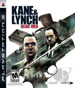 Kane & Lynch: Dead Men PS3 Cover Art