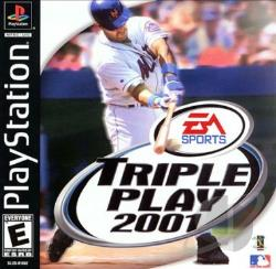 Triple Play 2001 PS Cover Art