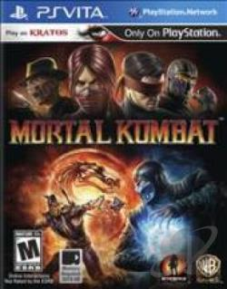 Mortal Kombat PSV Cover Art