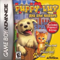 Puppy Luv: Spa and Resort GBA Cover Art