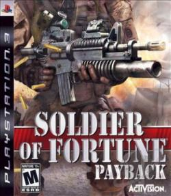 Soldier of Fortune: Payback PS3 Cover Art