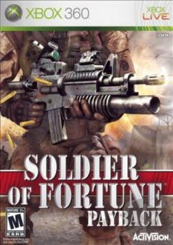 Soldier of Fortune: Payback XB360 Cover Art