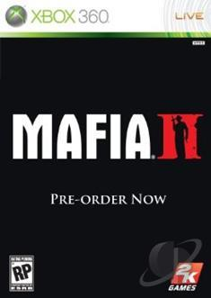 Mafia II XB360 Cover Art