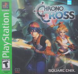 Chrono Cross PS Cover Art