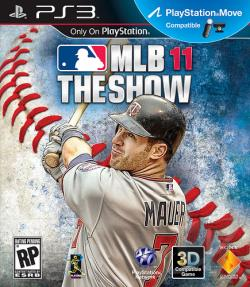 MLB 11: The Show PS3 Cover Art