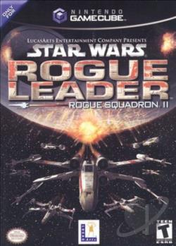 Star Wars - Rogue Leader Rogue Squadron II GQ Cover Art