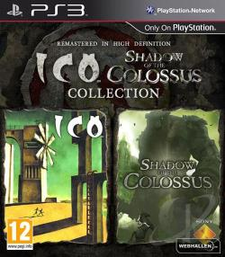 Ico & Shadow of the Colossus Collection PS3 Cover Art