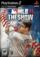 MLB 11: The Show PS2 Cover Art