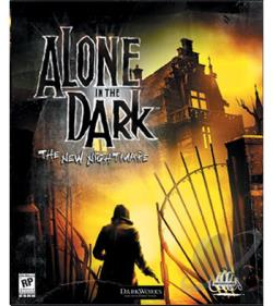 Alone in the Dark: The New Nightmare PS Cover Art