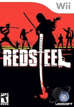 Red Steel WII Cover Art