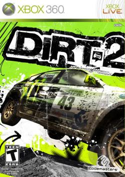 Dirt 2 XB360 Cover Art