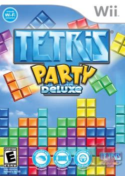 Tetris Party Deluxe WII Cover Art