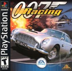 007 Racing PS Cover Art