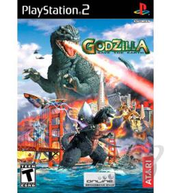 Godzilla: Save The Earth PS2 Cover Art