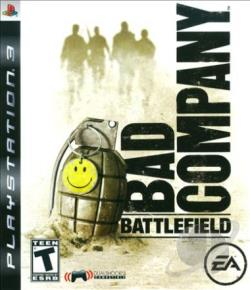 Battlefield: Bad Company PS3 Cover Art