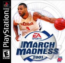 NCAA March Madness 2001 PS Cover Art