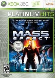 Mass Effect XB360 Cover Art