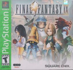 Final Fantasy IX PS Cover Art