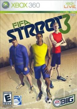 FIFA Street 3 XB360 Cover Art