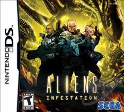 Aliens: Infestation NDS Cover Art
