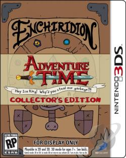 Adventure Time: Hey Ice King! Why'd You Steal Our Garbage?! 3DS Cover Art
