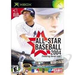 All-Star Baseball 2004 XB Cover Art