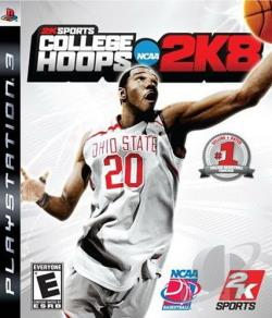 College Hoops 2K8 PS3 Cover Art