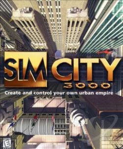 Sim City 3000 PCG Cover Art