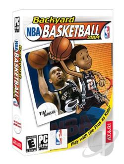 Backyard Basketball 2004 PCG Cover Art