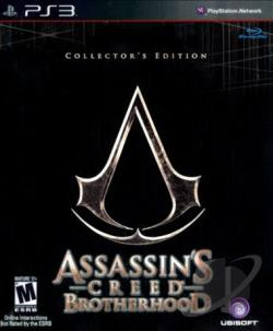 Assassin's Creed: Brotherhood PS3 Cover Art