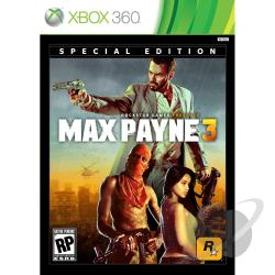 Max Payne 3: Special Edition XB360 Cover Art