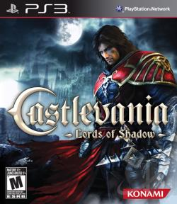 Castlevania: Lords of Shadow PS3 Cover Art