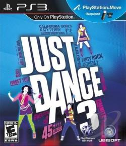 Just Dance 3 PS3 Cover Art