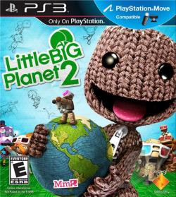 LittleBigPlanet 2 PS3 Cover Art