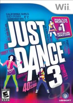 Just Dance 3 WII Cover Art