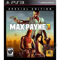 Max Payne 3: Special Edition PS3 Cover Art