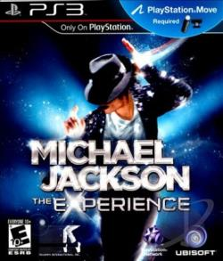 Michael Jackson: The Experience PS3 Cover Art