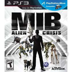 Men in Black: Alien Crisis PS3 Cover Art