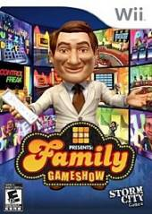 GSN Presents: Family Gameshow WII Cover Art