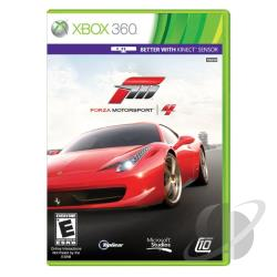 Forza Motorsport 4 XB360 Cover Art