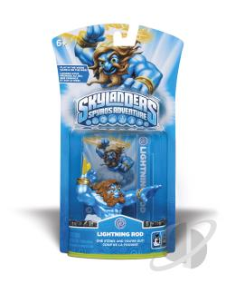 Skylanders Character Pack 2-Lightning Rod Cover Art