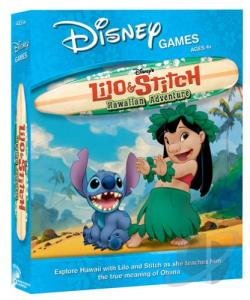 Lilo & Stitch Hawaiin PCG Cover Art