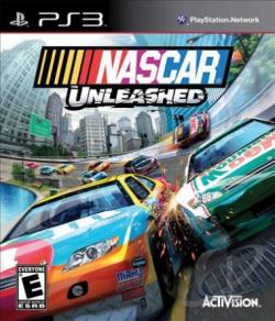 NASCAR Unleashed PS3 Cover Art