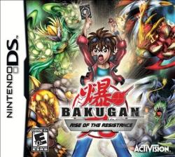 Bakugan: Rise of the Resistance NDS Cover Art
