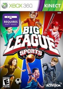 Big League Sports XB360 Cover Art