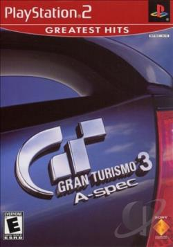 Gran Turismo 3 A-spec PS2 Cover Art