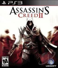 Assassin's Creed II PS3 Cover Art