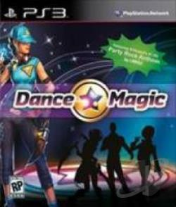 Dance Magic PS3 Cover Art